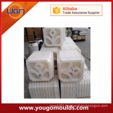 Customized plastic concrete mould for paving