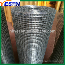 1'' electro galvanized welded wire mesh