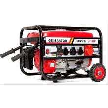 2кВт с колесами и ручкой трехфазный бензиновый генератор