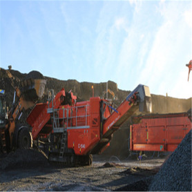 Mobile Tracked Cone Crushing Plant For Sale