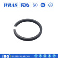 PEEK+Carbon Fiber Wear Ring Mechinery Parts