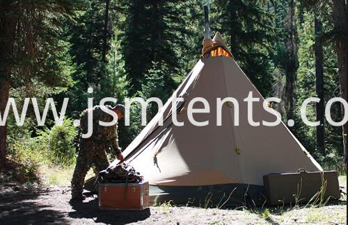 Lotus Canvas Tipi Tents