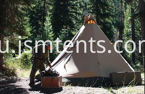 Canvas Tepee Tents outdoor