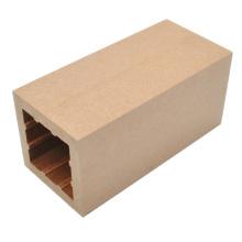 Alto compuesto plástico de madera de Quanlity poste 100 * 100