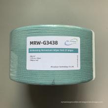 Grüne Spunlaced Cellulose Polyester Rollen