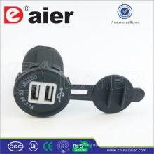 Daier 5V 3A USB Ladegerät Adapter / USB Ladebuchse / USB Buchse