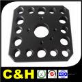 Micro precisão alumínio / aço / latão / cobre / plástico / titânio CNC usinagem para máquinas automáticas