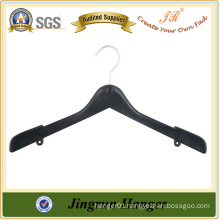 Metal Hook Plastic Clothes Hanger for Suit