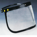 Metal Mesh Face Shield para caber no capacete