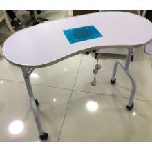 salon de manucure moderne utilisé ongles manucure tables de pliage