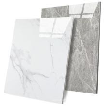 Carrelage de sol en porcelaine polie anti-dérapante pour intérieur en marbre