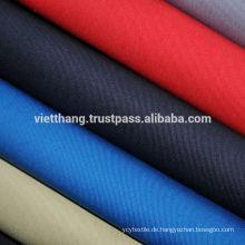 100% BAUMWOLLE 116*58 CD20*CD20 210gsm Khaki Twill Stoff aus Vietnam