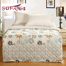 Factory Directly printed quilt cheap polyester quilt full Luxury Comfortable