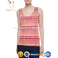 Modèle de tricotage dames été Gilet