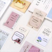 Creative Design Tearable Sticky Memo Pad
