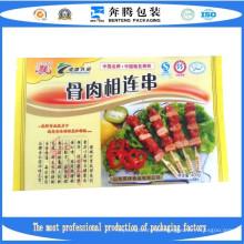Pacotes de embalagem de produtos congelados de carne