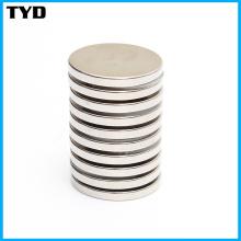 Permanent Strong Standard Neodymium Disc Magnet Grade N35