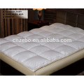High Quality Natural Washed Hotel Microfiber Filling Mattress Topper