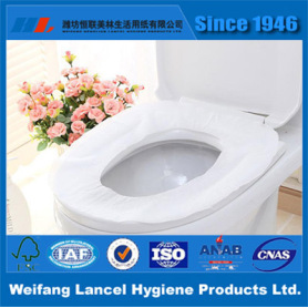 Disposable Recycled Pulp Toilet Paper Seat Cover