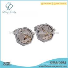 Jóia de cobre dos homens da amostra livre, abotoadura do movimento do relógio