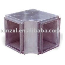 hvac sound attenuator, duct sliencer, sound reducer