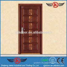 JK-A9021 de seguridad de acero blindado principal moderno dormitorio puerta de diseño de origen