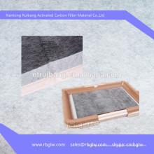 esteira do filtro do animal de estimação filtragem do filtro do carbono ativado almofada do desodorização do animal de estimação