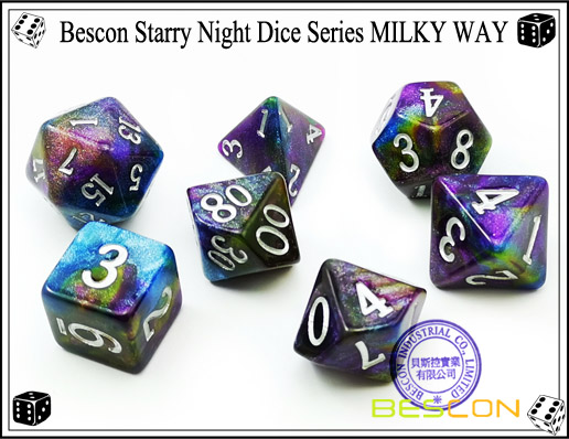 Starry Night Dice-8