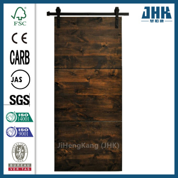 JHK Modern Design Solid Wood Sliding Barn Door