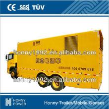 Honny Groupe électrogène monté sur camion avec camion