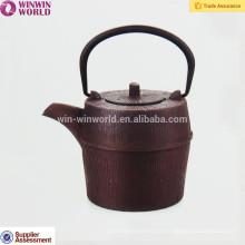 Bules do metal 900ML que vendem por atacado o bule antigo do ferro fundido do esmalte do metal do japonês e do chinês