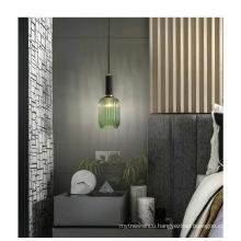 Wholesales indoor decoration copper glass brass pendant light