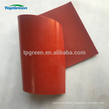 0.3-10mm red white silicon rubber sheet