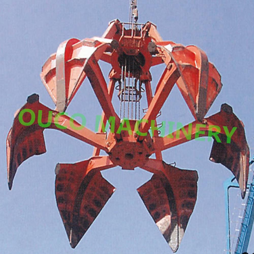 6 Ropes Mechanical Grab