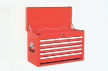 7 Drawer Top Portable Tool Chest With Double Wall Construction, Chrome Coating (thb-26071)