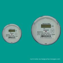 Es12-S / Es13-S Tipo de enchufe monofásico Medidor de electricidad