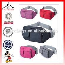 Bolso de viaje de la cintura del bolso de la cintura del último diseño para los hombres