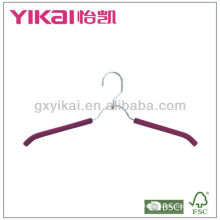 EVA foam shirt hanger with belt rack