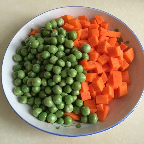 Export Standard Frozen Mixed Vegetables