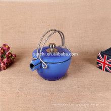 Монденский кухонный эмаль чугунный чайник и чайник