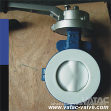 PTFE/NBR/EPDM/Rubber Lined Butterfly Valve