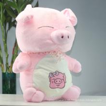 ICTI Audited Fábrica de juguetes de peluche de cerdo grande