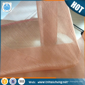 Alibaba China 20 40 60 80 100 Mesh nichtmagnetischen Kupfer infundiert Gewebe / Siebgewebe