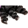 HE005 Virgem peruana Virgem do corpo Onda 3 Pacotes de cabelo humano Weave 7a Grade Unprocessed Virgin Hair Pacote de ondas do corpo peruano