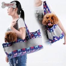 2017 Hot Sale Soft and Comfortable Canvas Mesh Dog Pet Travel Carrier Bag
