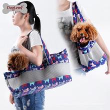 2017 Venda Quente Macio e Confortável Malha De Lona Cão Pet Travel Bag Transportadora