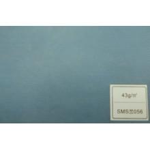 Tecido de SMS (azul 43GSM)