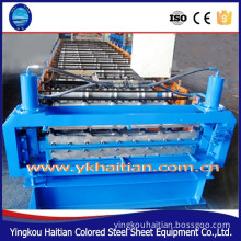 Roof Metal Colored Steel Double Panel Machine