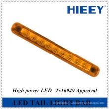 Герметичный водонепроницаемый 10-ти дюймовый светодиодный светильник для прицепа-трейлера, стоп / хвост / поворот комбинированный