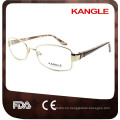 2017 new production metal fashion optical frame for women